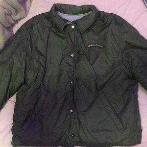 'ralph lauren polo jeans co' green jacket